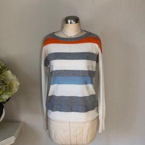 Vince Camuto Crew Neck Stripe Sweater